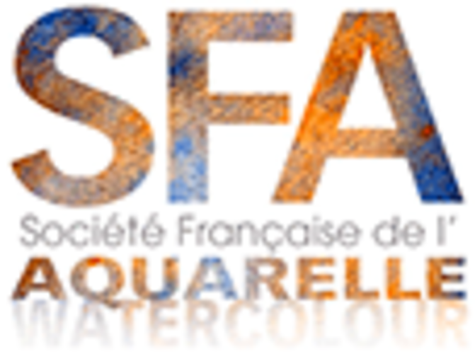 Sennelier, the exclusive watercolor of the French Society of Watercolor logo-sfa-2019-site10