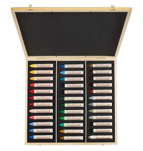 Oil pastels - Wooden Sets n132560-36