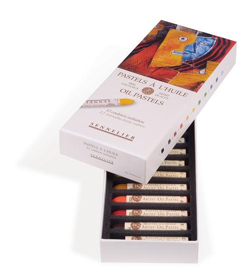 OIL PASTELS – CARD BOXES n132520-120-ouverte
