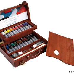 Deluxe Oil wooden set of 22 tubes 40m